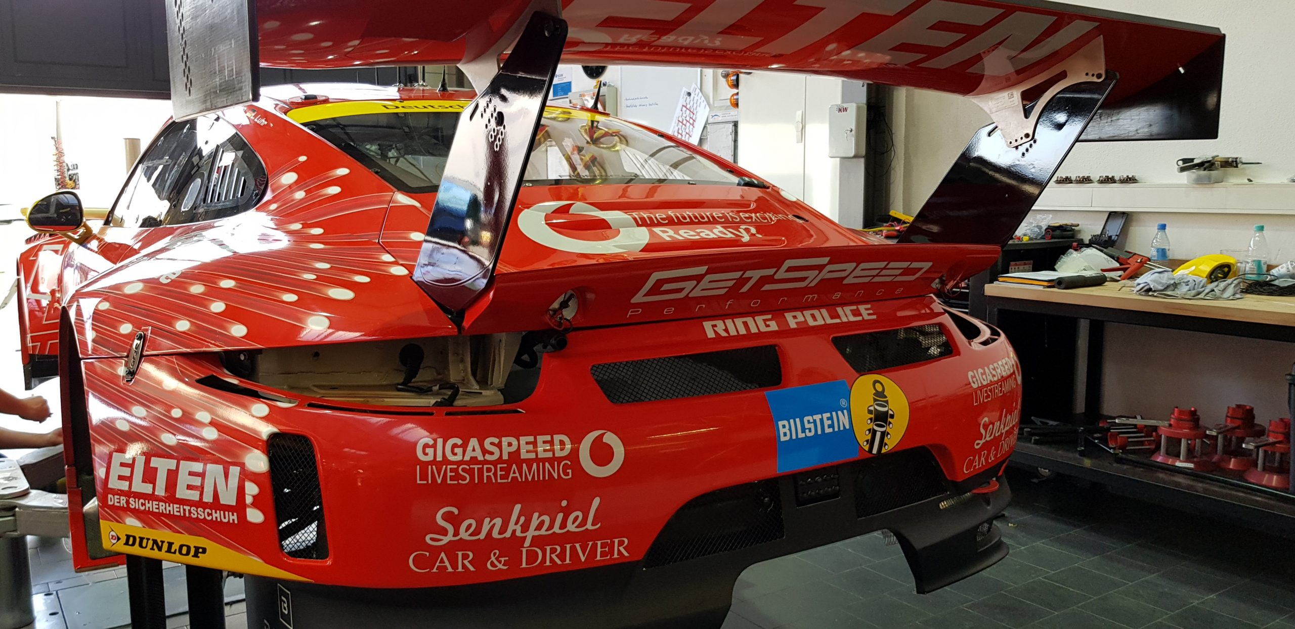 Porsche GT3 RSR Getspeed