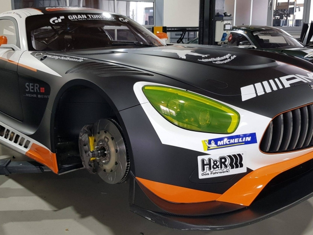 Mercedes AMG GT3 Black Falcon