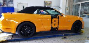 Mustang orange