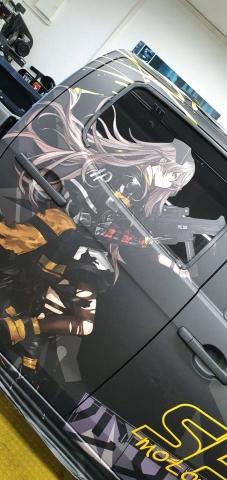Isuzu D-Max Digitaldruck matt