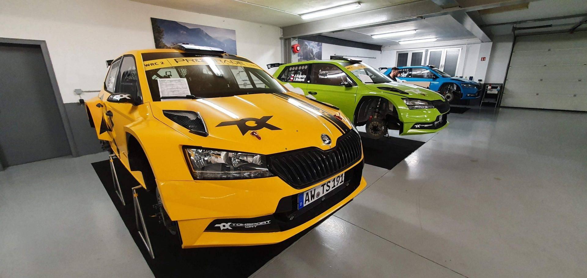 Skoda Fabia WRC TOKSPORT Komplettfolierung mit Decals