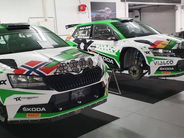 Skoda FABIA WRC TOKSPORT