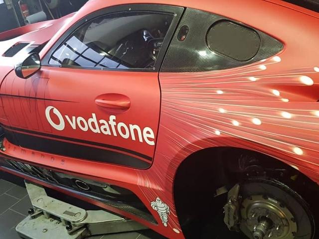Getspeed AMG GT3 Vodafone1 mattrot