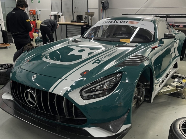 TOK Spoprt GT3 AMG Juniper Green