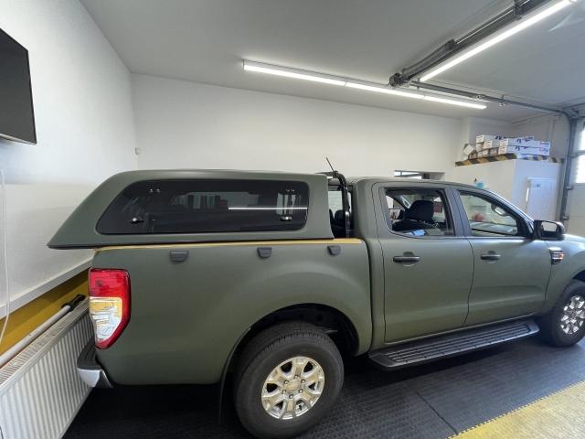 Ford Ranger in nato olive matt