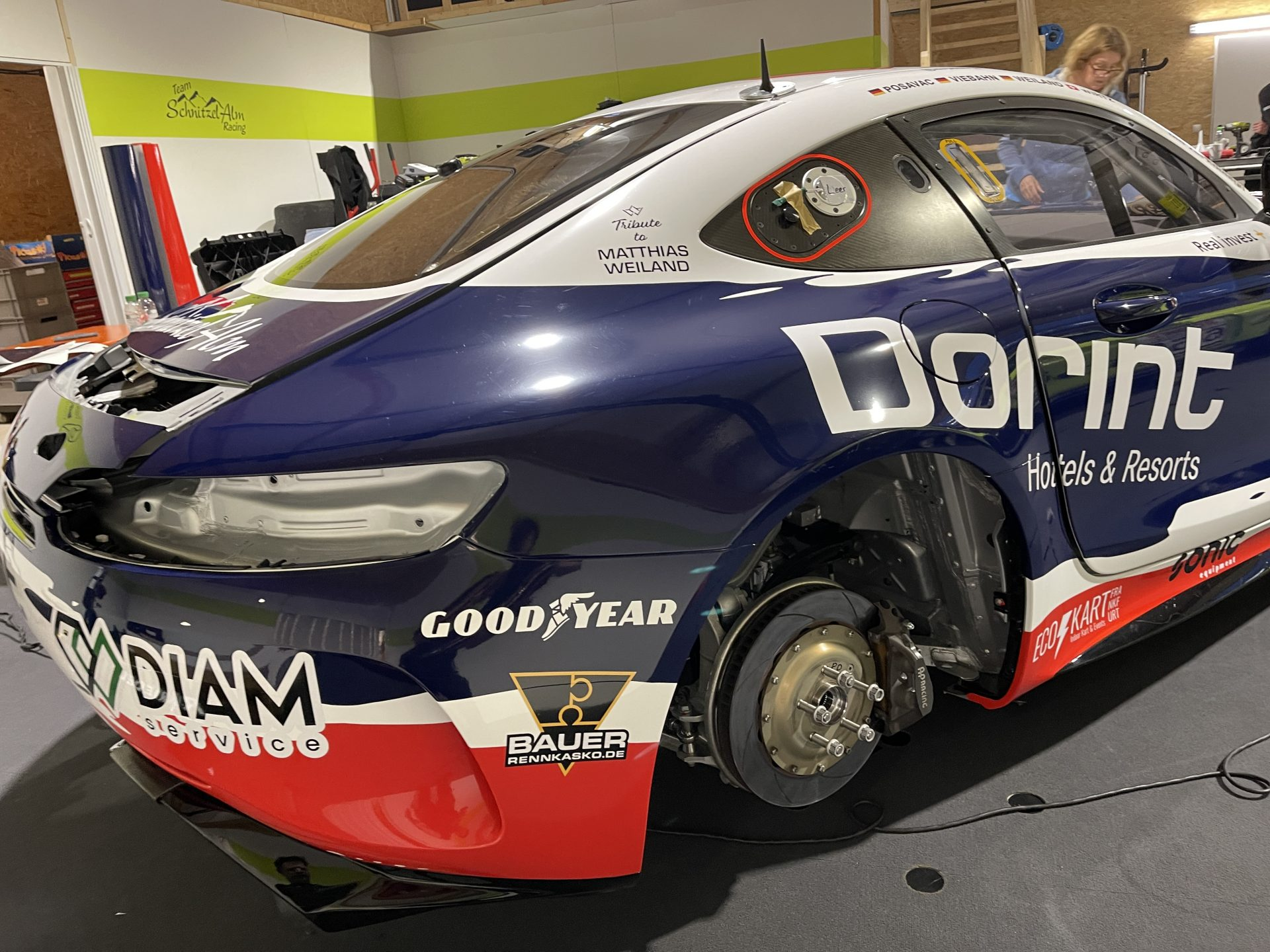 Schnitzelalm Mercedes GT4 Dorint  Design
