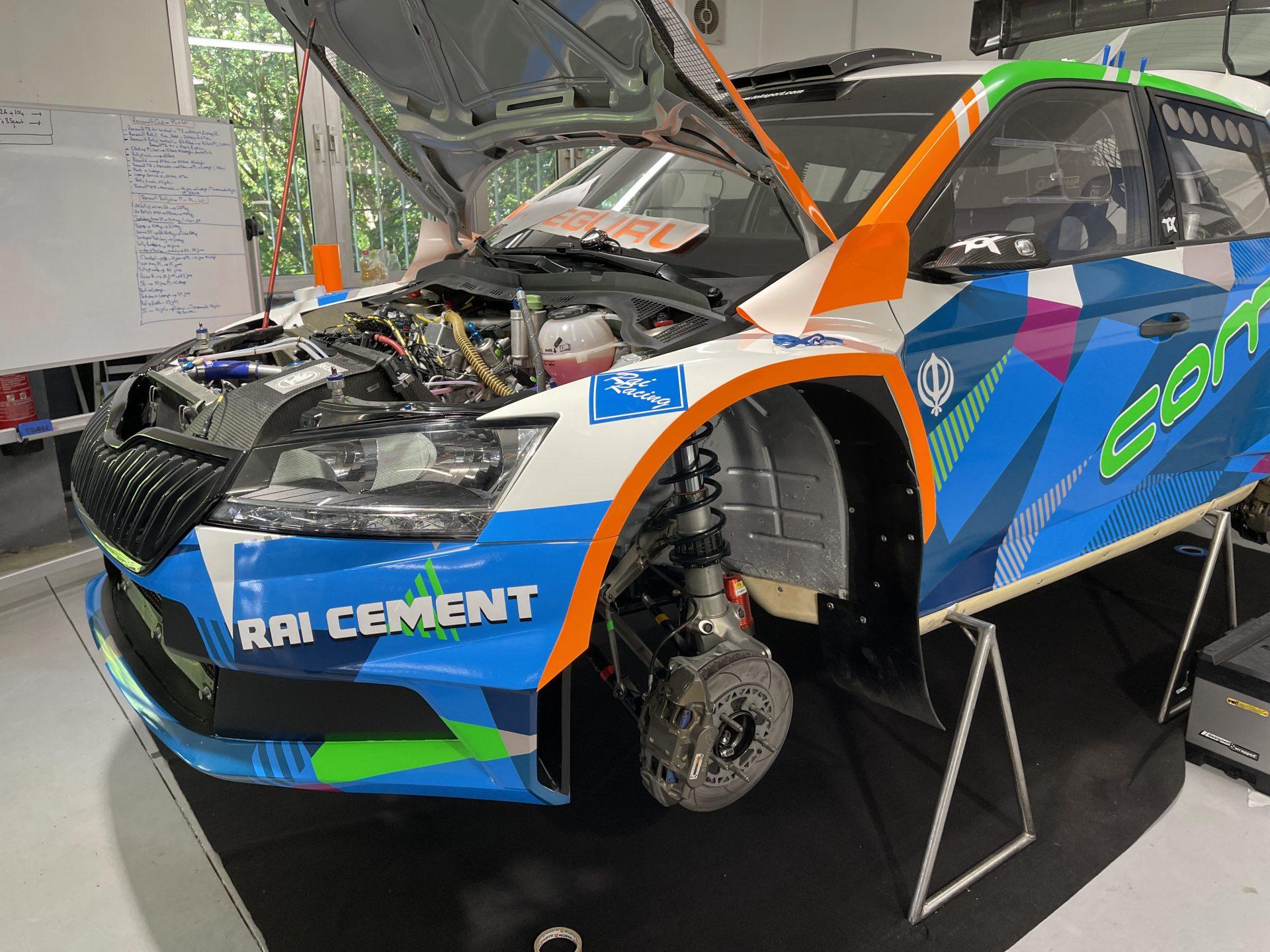 TOK Sport Rally Rai Racing Digitaldruck