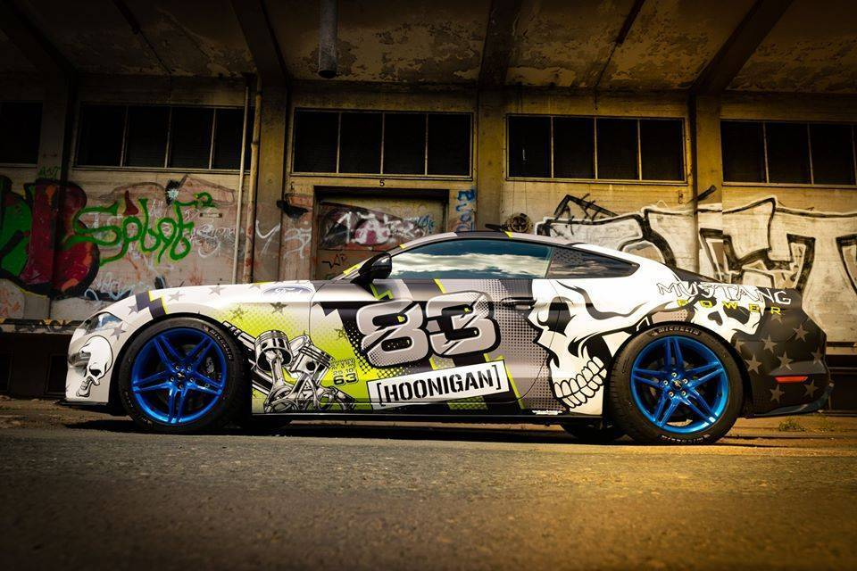 Mustang Skull Design Carwrapping Stangdesign