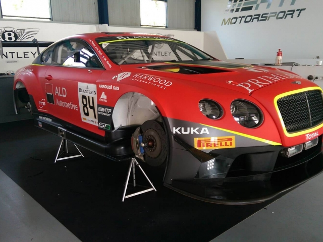 HTP Motorsport Bentley GT3