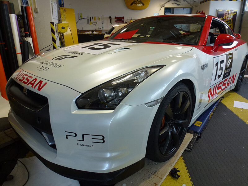 Nissan GTR Racing Design