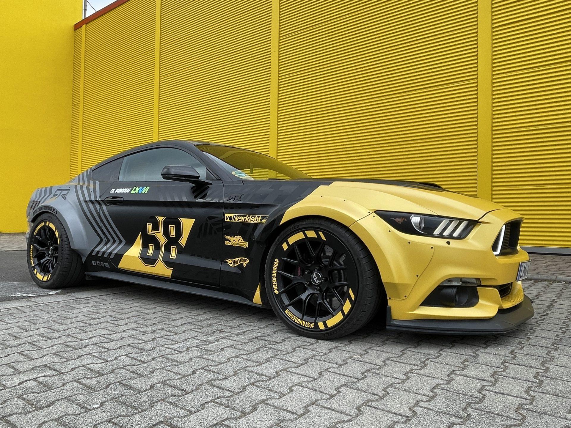RTR Mustang Breitbau