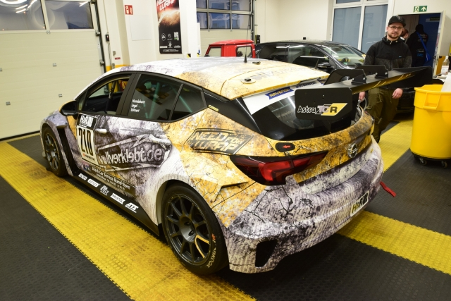 Opel Astra TCR Usedlook Design