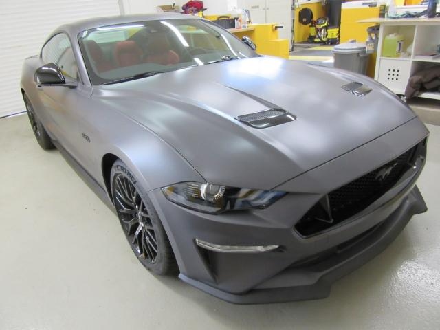 Mustang mattgrau