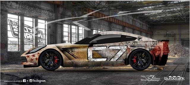 Corvette C7 Design
