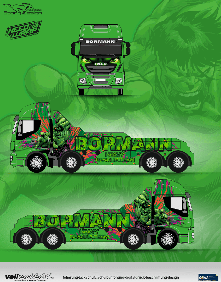 Iveco Hulk Design