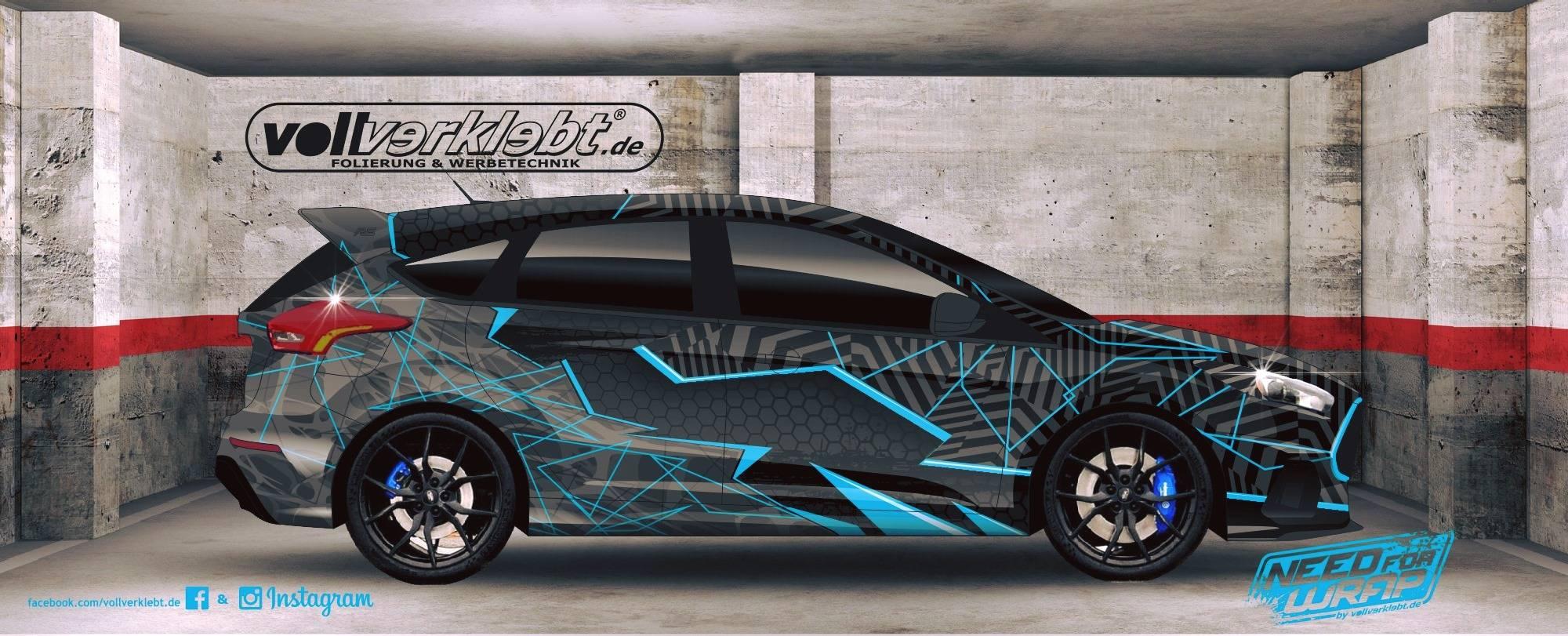 Ford Focus RS Design Folierung