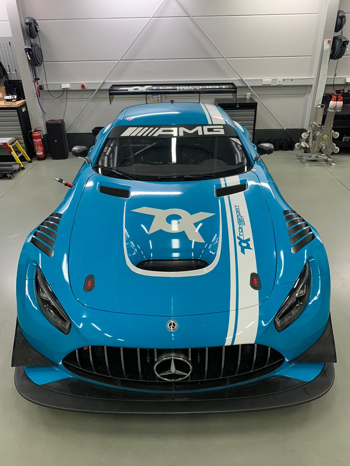 Toksport WRT Mercedes AMG GT3