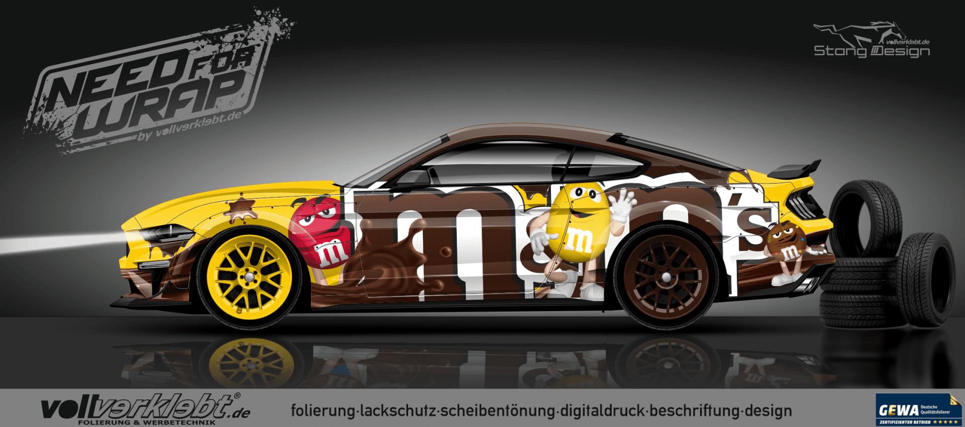 M&M Mustang