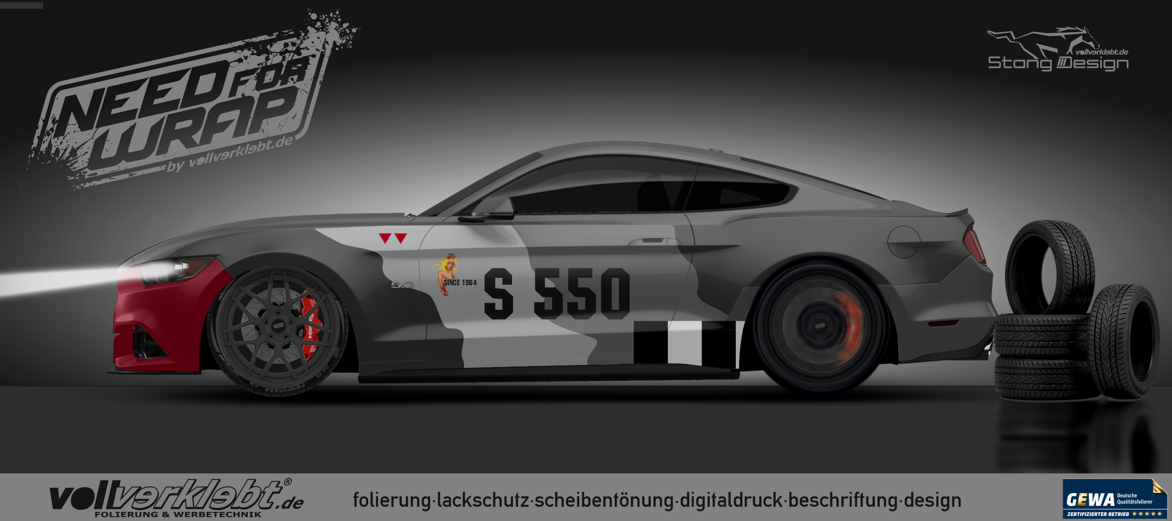 Mustang Gen6 S550 Military Design